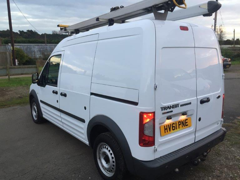 ford transit connect lwb high roof vans for sale isle of wight. Black Bedroom Furniture Sets. Home Design Ideas