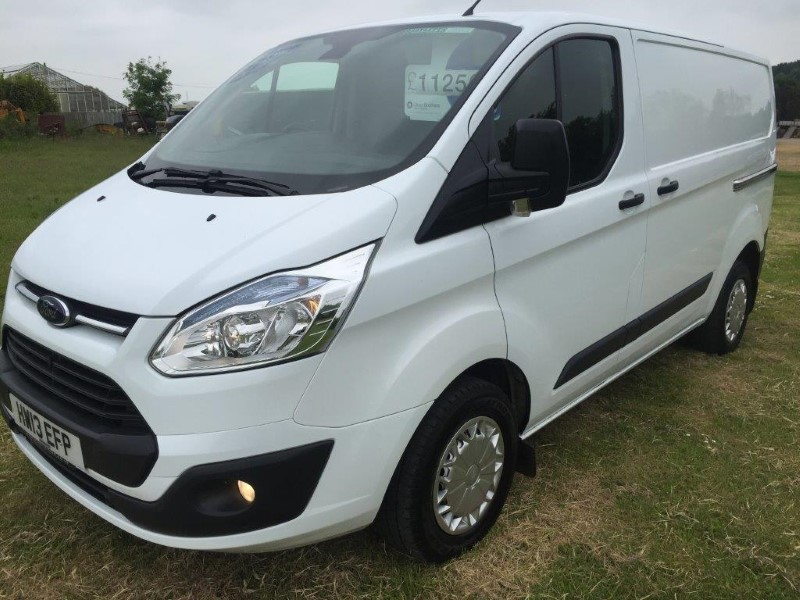 ford transit custom 125ps vans for sale isle of wight. Black Bedroom Furniture Sets. Home Design Ideas