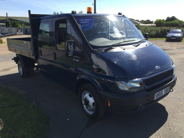 8c5a733368 Ford Transit Double Cab Tipper - Vans For Sale Isle of Wight