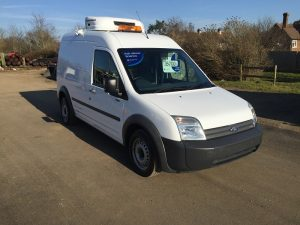 FORD TRANSIT CONNECT FRIDGE VAN WITH STANDBY VERY LOW MILEAGE