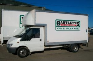 FORD TRANSIT LUTON 3.5T WITH TAIL LIFT