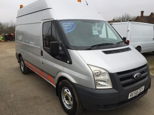 FORD TRANSIT MWB HIGH ROOF COMPRESSOR VAN 140PS